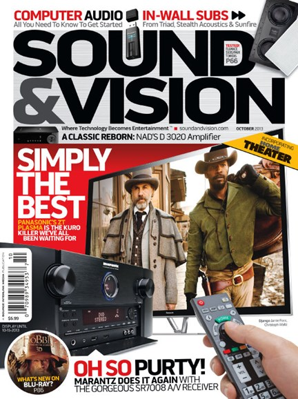 Sound & Vision Cover - 10/1/2013