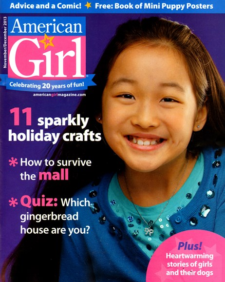 American Girl Cover - 11/1/2013
