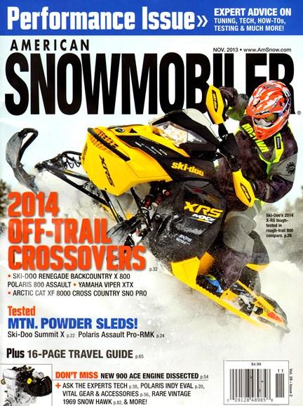 American Snowmobiler Cover - 11/1/2013