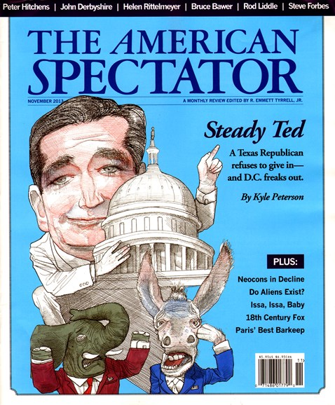 The American Spectator Cover - 11/1/2013