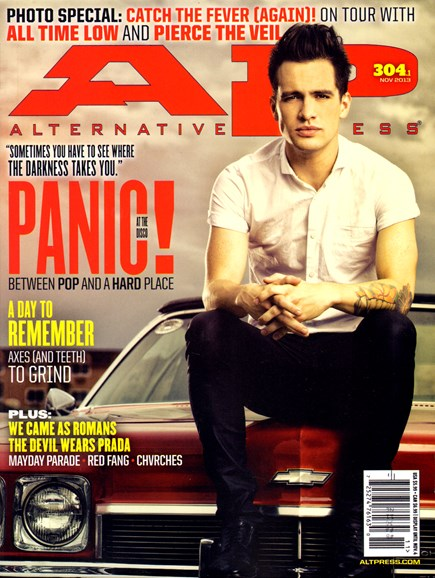 Alternative Press Cover - 11/1/2013