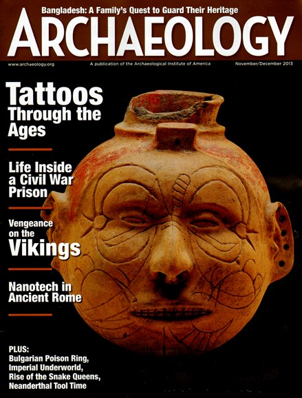 Archaeology Cover - 11/1/2013