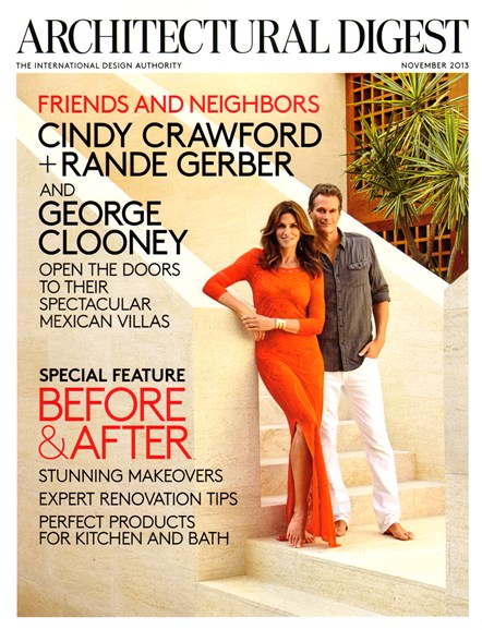 Architectural Digest Cover - 11/1/2013
