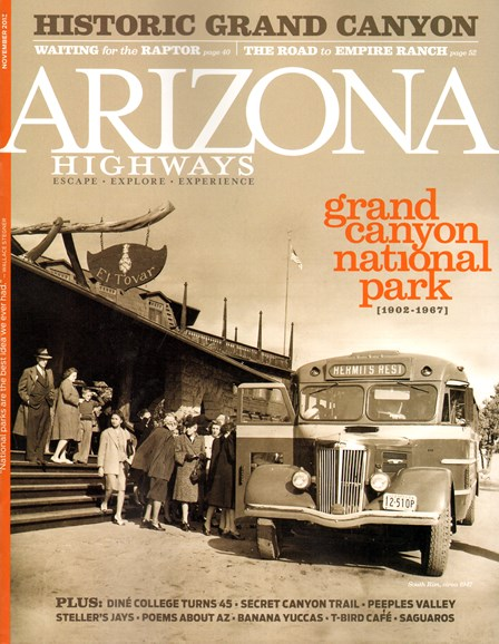 Arizona Highways Cover - 11/1/2013