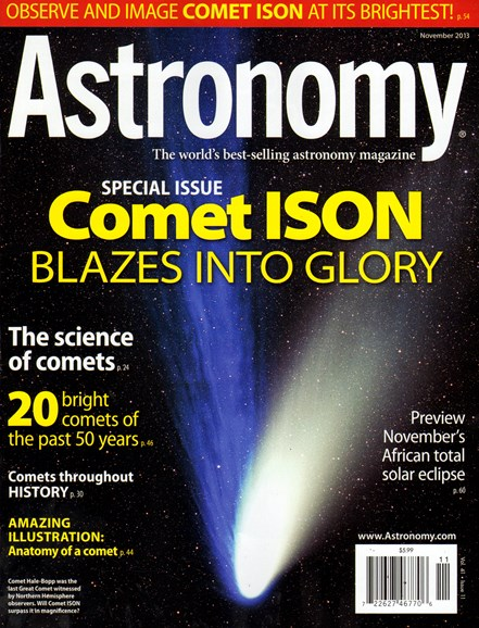 Astronomy Cover - 11/1/2013