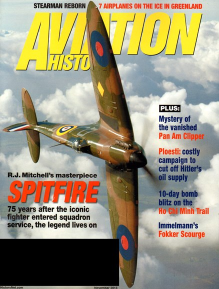 Aviation History Cover - 11/1/2013