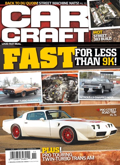 Car Craft Cover - 11/1/2013