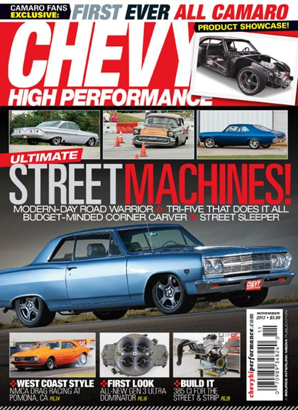 Chevy High Performance Cover - 11/1/2013