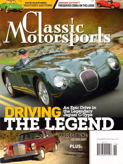 Classic Motorsports Cover - 11/1/2013