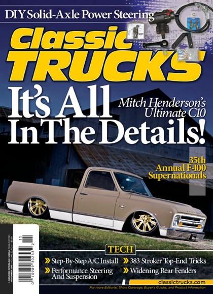 Classic Trucks Cover - 11/1/2013