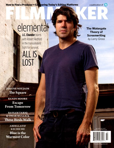 Filmmaker: The Magazine Of Independent Film Cover - 9/1/2013