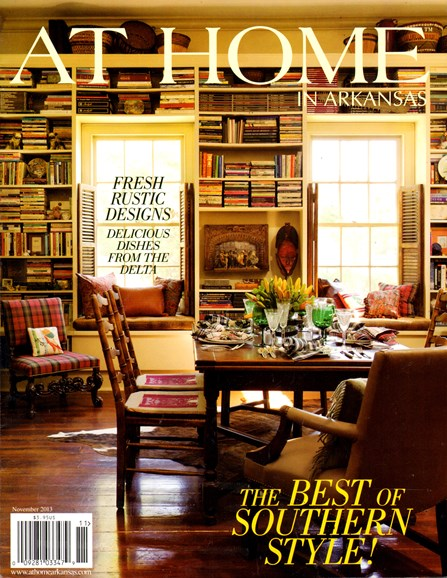 At Home In Arkansas Cover - 11/1/2013