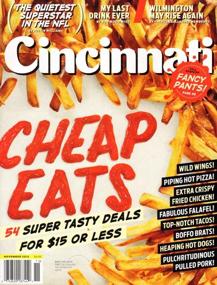 Cincinnati Cover - 11/1/2013