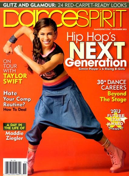 Dance Spirit Cover - 11/1/2013