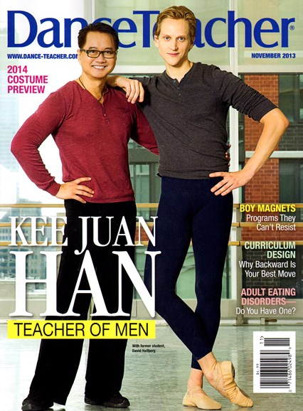 Dance Teacher Cover - 11/1/2013