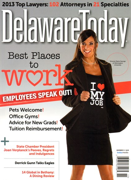 Delaware Today Cover - 11/1/2013