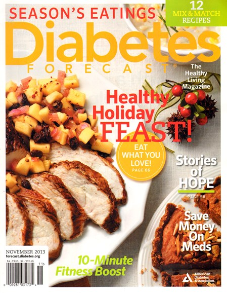 Diabetes Forecast Cover - 11/1/2013