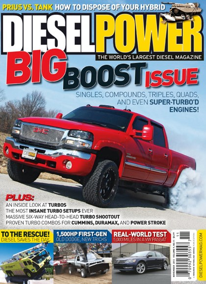 Diesel Power Cover - 11/1/2013