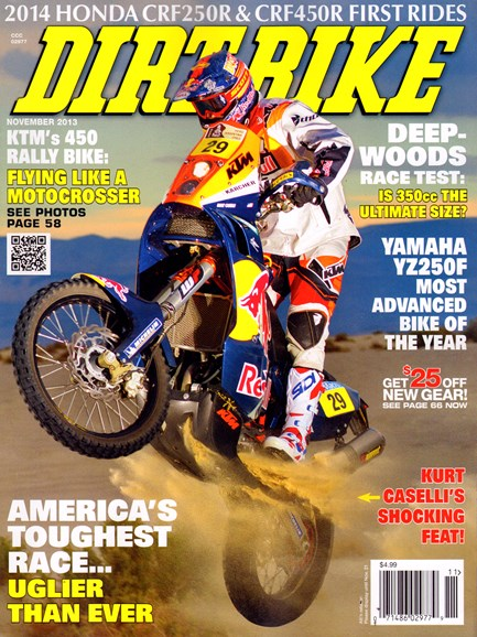 Dirt Bike Cover - 11/1/2013
