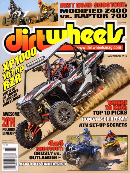 Dirt Wheels Cover - 11/1/2013