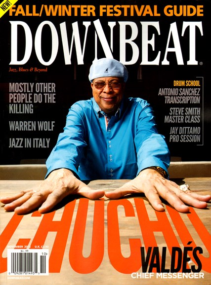 DownBeat Cover - 11/1/2013