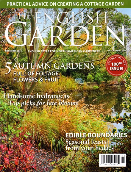 The English Garden Cover - 11/1/2013