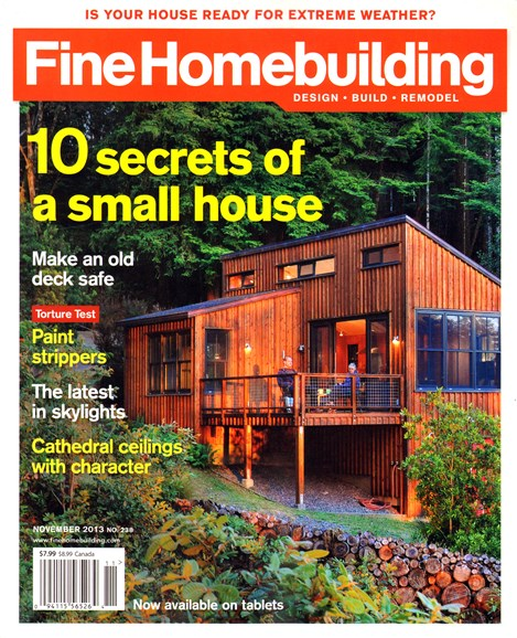 Fine Homebuilding Cover - 11/1/2013