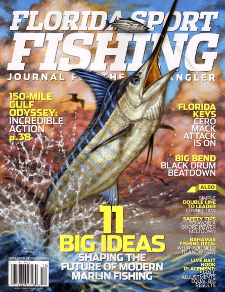 Florida Sport Fishing Cover - 11/1/2013