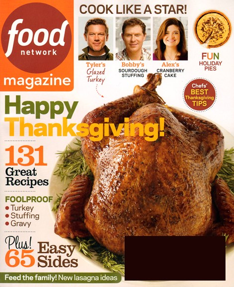 Food Network Cover - 11/1/2013