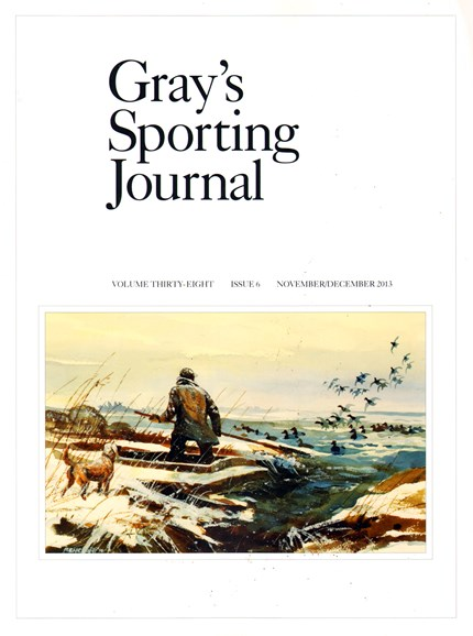 Gray's Sporting Journal Cover - 11/1/2013