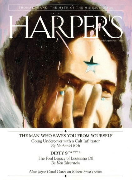 Harper's Cover - 11/1/2013