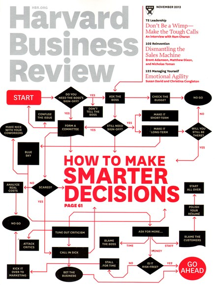 Harvard Business Review Cover - 11/1/2013