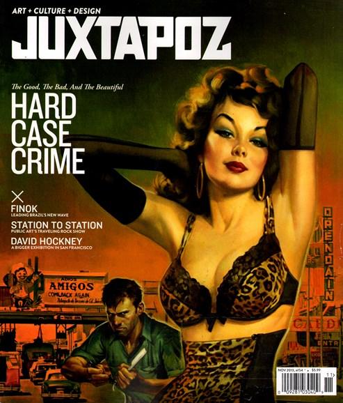 Juxtapoz Cover - 11/1/2013