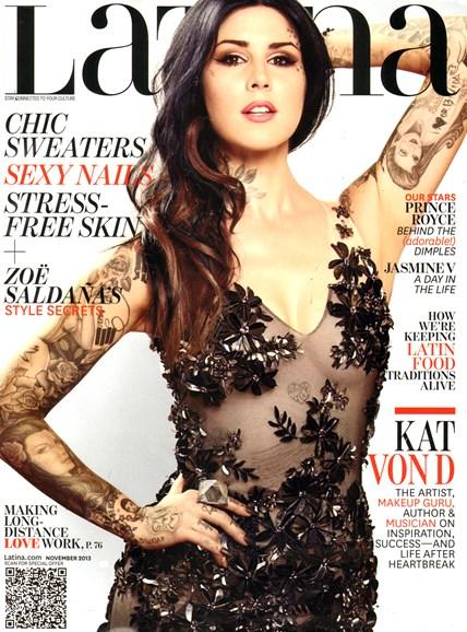 Latina Cover - 11/1/2013