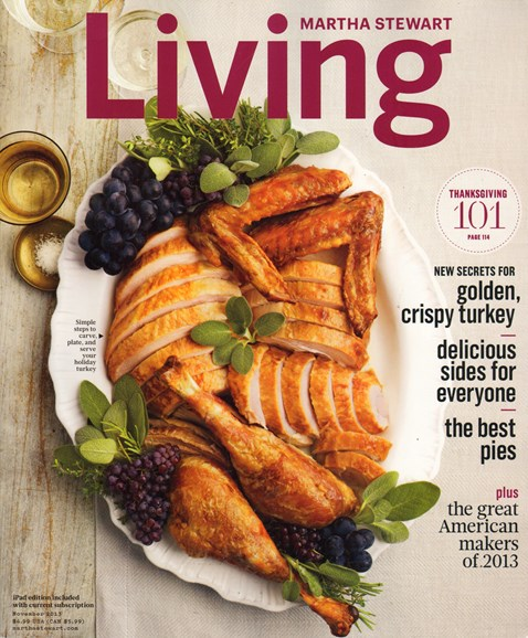 Martha Stewart Living Cover - 11/1/2013