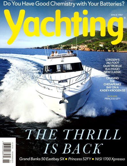 Yachting Cover - 11/1/2013