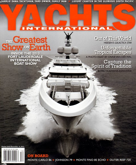 Yachts International Cover - 11/1/2013