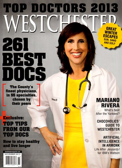 Westchester Magazine Cover - 11/1/2013