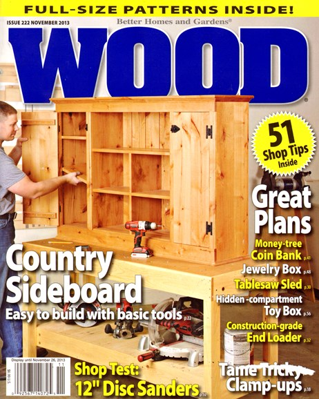 Wood Cover - 11/1/2013