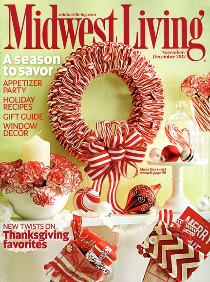 Midwest Living Cover - 11/1/2013