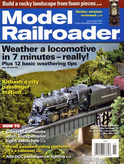 Model Railroader Cover - 11/1/2013