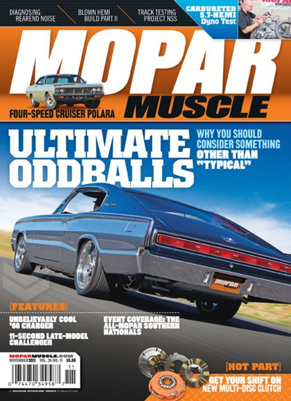 Mopar Muscle Cover - 11/1/2013