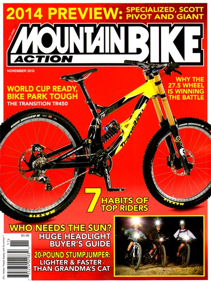 Mountain Bike Action Cover - 11/1/2013
