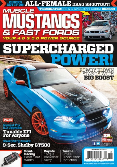 Muscle Mustangs & Fast Fords Cover - 11/1/2013