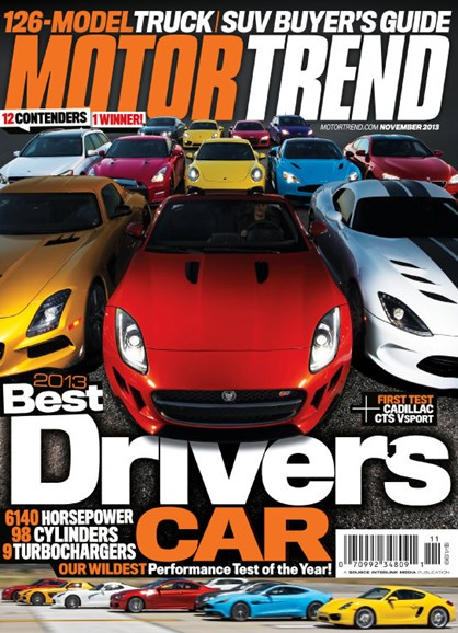 Motor Trend Cover - 11/1/2013
