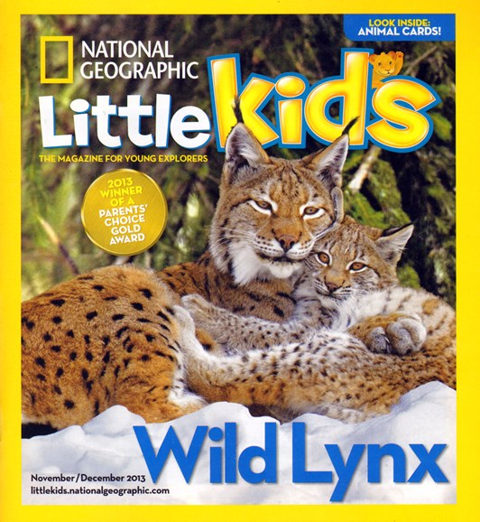 National Geographic Little Kids Cover - 11/1/2013