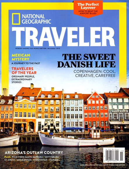 National Geographic Traveler Cover - 11/1/2013