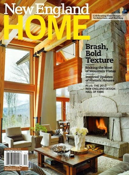 New England Home Cover - 11/1/2013