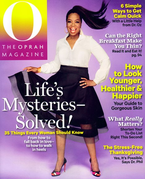 O The Oprah Cover - 11/1/2013