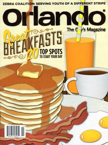 Orlando Magazine Cover - 11/1/2013